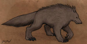 Werewolf Concept by aluckymuse