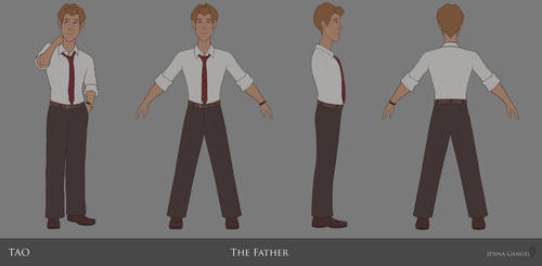TAO: Father Character Turnaround by aluckymuse