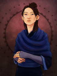 Iren Portrait by aluckymuse