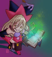 Reward Sketch SunnySideOb 02: Magilou by aluckymuse