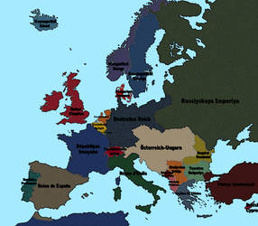 1913 Pre War Europe By Vaipabg On Deviantart