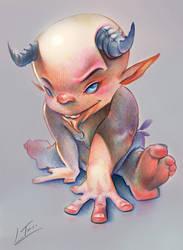Little Demon by LuisTomas