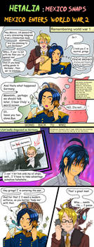 Hetalia Mexico World War 2 -B by chaos-dark-lord