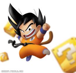 Go Go Goku kick by Chuckmingus