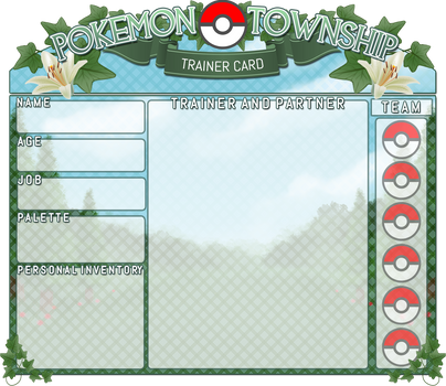 -OLD- [Pokemon Township] Trainer Card (V4) by PTS-Admin