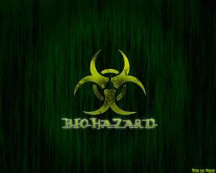 Green biohazard wallpaper by Epoc22
