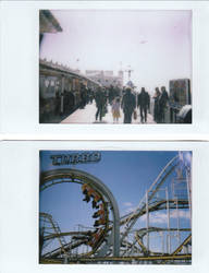 Brighton Polaroids 2 by Benenenenen