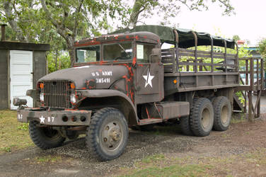 Old Military truck 1 by Alegion-stock