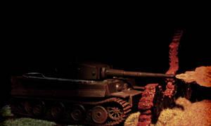 Panzerkampfwagen VI Tiger by spunkyreal