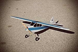Piper Cub J3 by spunkyreal