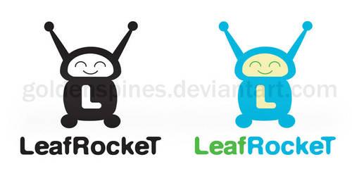 Leaf Rocket Logo by goldenspines