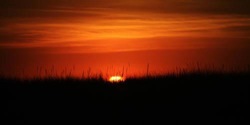 Ocean Sunset by rustyshacklefjord