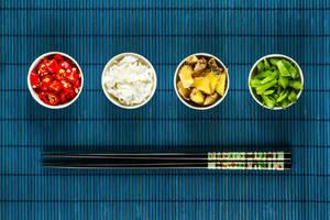 the asian cuisine shooting II by stachelpferdchen