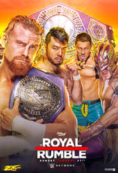 WWE Royal Rumble 2019 poster by ClarkVL9