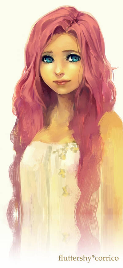 Fluttershy by corrico