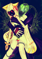 Taokaka And Hazama by Naookii