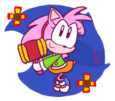 Amy Rose by SomeFoolFP