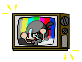 Television girl by SomeFoolFP