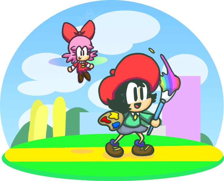 Adeleine and Ribbon by SomeFoolFP