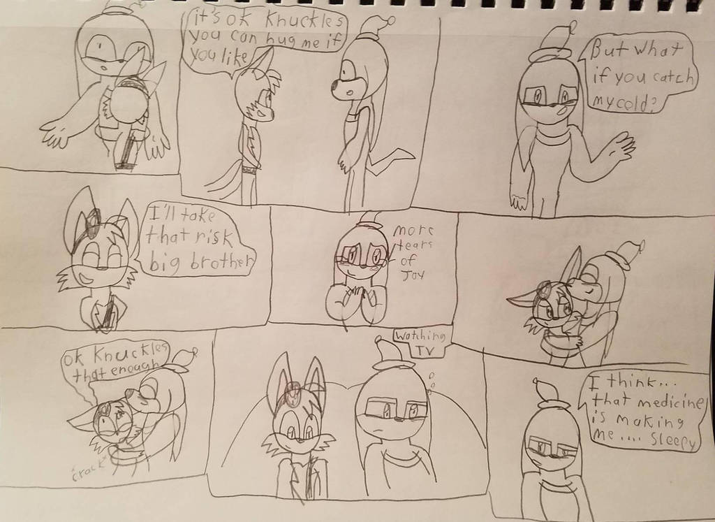 sonic boom episode 35 epilogue page 6 by Katlinthefox on