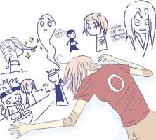 sakura :: woe is you by yukisyo