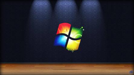 Windows 7 Wallpaper by spcine