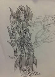 Autobot lucy by kickazzjohnni