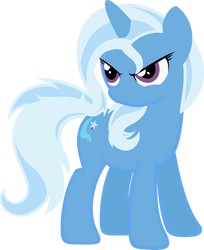 Simplified Vector 4: Trixie Lulamoon by QuanXaro