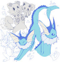 poke by paperclawss