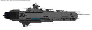 Briedis class - Assault Battleship by zagoreni010