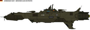 Weinheim class Destroyer by zagoreni010