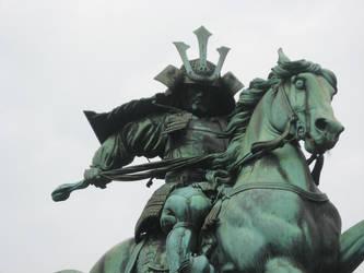Samurai Hero by thedudewithstuff