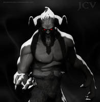 Demon Illu by JarodValentin