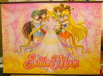 Princess Team Wallscroll SOLD by SakkysSailormoonToys
