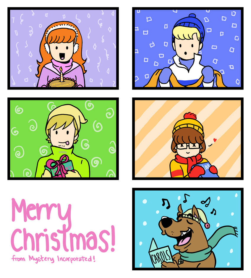 Merry Scooby-Christmas!