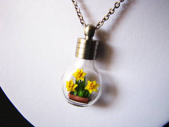 Daffodils - Miniature Origami by Paper-Peaches