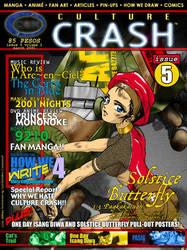 Culture Crash Comics Issue 5 by CultureCrashComics