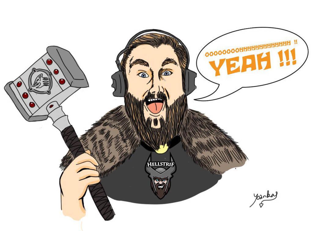Hellstrif - Streamer Twitch - OHHH YEAH !!! by Yoankan