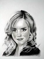 Emma watson pencil portrait by Cr1msonCloud