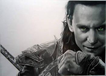 Portrait: Loki by Cr1msonCloud