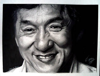Jackie Chan by Cr1msonCloud