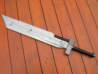 Buster sword by Gwifitz