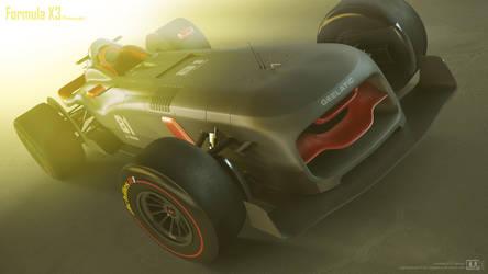 Formula X3 by megatama