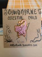 Bloodborne CELESTIAL CHILD enamel pin by callanerial