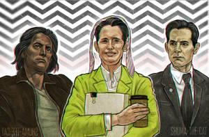 Twin Peaks 3 (fan art) by shuma-the-cat