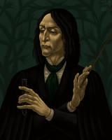 Severus Snape (renaissance style) by shuma-the-cat