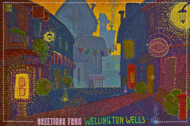 Wellington Wells postcard (the new version) by shuma-the-cat