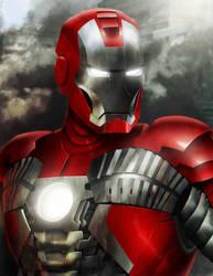 Iron Man Mark V by Sin-Vraal