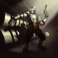 Atomic Robo by Sin-Vraal
