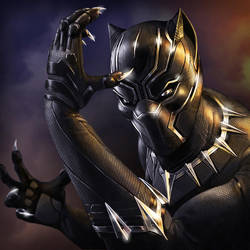 Black Panther by Sin-Vraal
